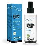 PETUCHI Dentifricio Spray per Cani BIO; Combatte l'Alitosi, Il Tartaro e la Placca; 100% Naturale; per Stomaco Sensibile; 150ml