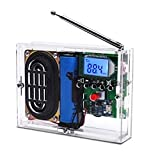 MiOYOOW FM Radio Kit DIY Soldering Project Adjustable Wireless Receiver LCD Display FM Digital Radio Module with Headphone Jack DIY Kits for Soldering Leaning and Teaching