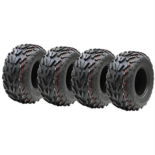Cuatro neumáticos para quad de 16 x 8,00 – 7, 16 x 8 – 7 ATV, certificado E, neumático legal de carretera de 7 pulgadas