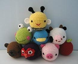 Super Cute: 25 Amigurumi Animals: Obaachan, Annie: 9780764142970 ... | 214x260