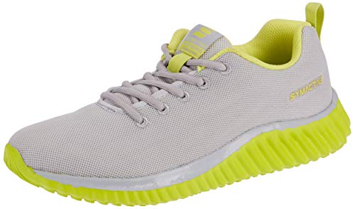 Amazon Brand - Symactive Men's Grey Running Shoes-8 UK (SYM-SS-023A)