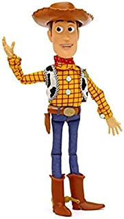 15 inch Pixar Toy Story 3 Sheriff Woody Pull String Talking Doll Action Figure Toy Voices Speak PVC Figure Toy