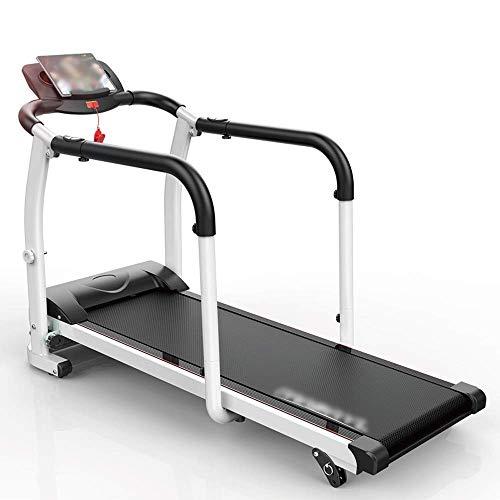 Cinta de correr, cinta de correr eléctrica plegable 2.0HP Motor Rehabilitación Cinta de correr Inicio Ancianos Máquina para caminar Ejercicio físico Recuperación de extremidades RunningMachine1121