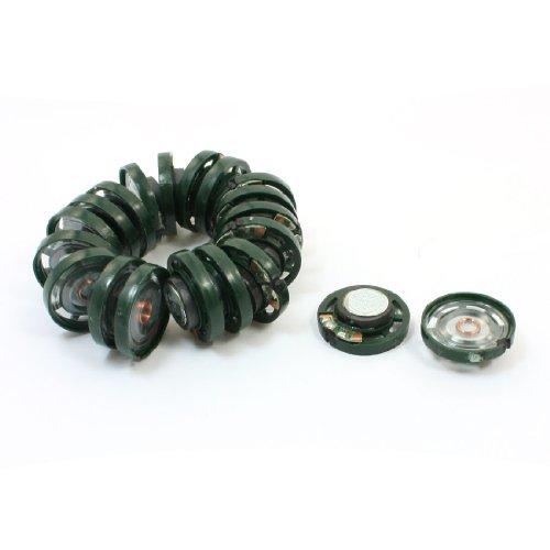 Aexit 20Pcs Durchmesser 27mm Elektrodynamischer Typ 0.25W 8ohm 85DB Lautsprecher für Spielzeug (887bd7db8f05e1e1926f01fadfdc667e)