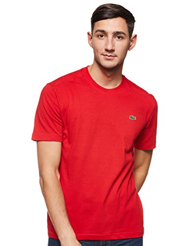Lacoste Sport Herren TH7618 T-Shirt, Rot (Rouge), X-Large