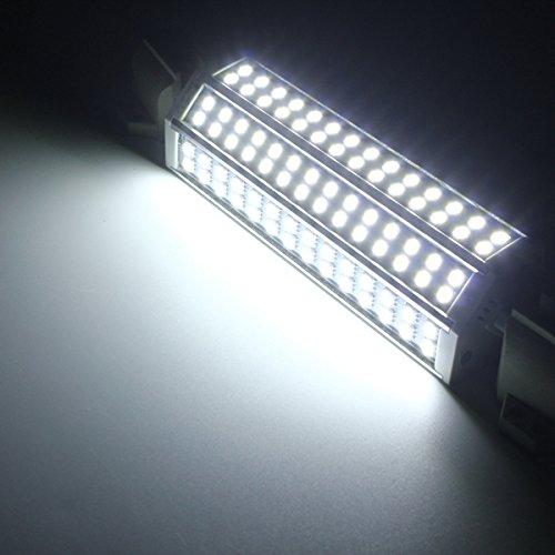 MASUNN R7s 189MM no Regulable Bombilla LED 30W 84 SMD 5050 inundación Spotlight maíz luz lámpara AC 85-265V - Blanco Puro