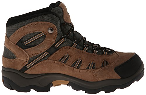 Hi-Tec Men's Bandera Mid Waterproof Hiking Boot, Bone/Brown/Mustard, 9 W US