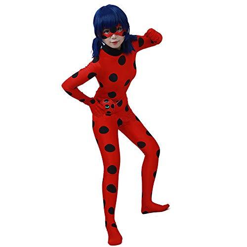 ALBRIGHT Ladybug Cosplay Disfraces Fiesta de Carnaval Navidad ...
