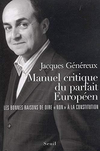 Manuel critique du parfait Européen