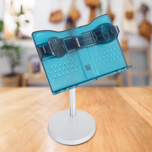 Junlucki Book Stand, Adjustable Desktop Reading Rack Folding Reading Stand Reading Holder, for Home Office