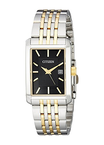 Citizen Quartz Mens Watch, Stainless Steel, Classic, Two-Tone (Model: BH1678-56E)
