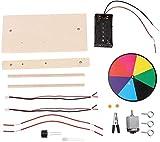 Experimento Físico Juego de Juguetes, Laboratorio de Ciencias de Física Óptica Kit de Inicio de Aprendizaje Experimento de Luz de Sonido Juguetes Educativos para Niños Estudiantes de Primaria Junior H
