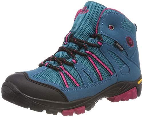 Bruetting Ohio High, Chaussures de Randonnée Hautes, Turquoise (Türkis/Pink Türkis/Pink), 35 EU