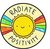 MR3Graphics Magnet Radiate Positivity Magnetic Car Sticker Decal Bumper Magnet Vinyl 5'