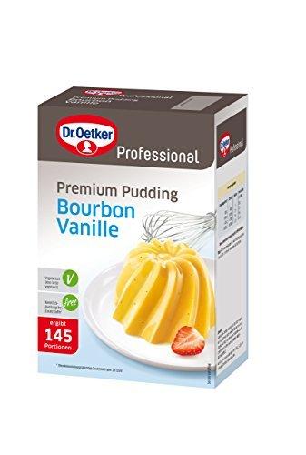 Dr. Oetker Professional Premium Pudding Bourbon-Vanille, Puddingpulver in 1 kg...