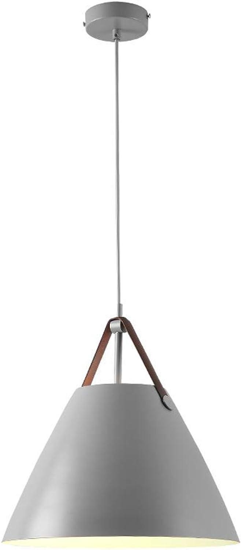 HBLJ Moderne Nordic Minimalistische Kreative Hngende Lichter Bar Beleuchtung Wohnzimmer Lampen Esszimmer Leuchten Restaurant Pendelleuchten (Farbe  Grau-B)