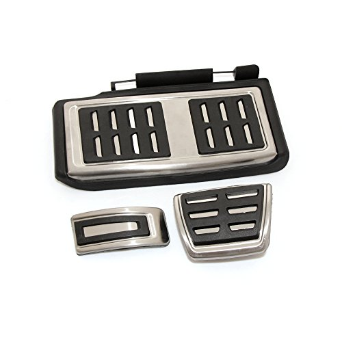 WOQUi Pedale sportpedale Copripedali Set Pedali poggiapiedi Pedali per Volkswagen VW Golf 7 GTI MK7
