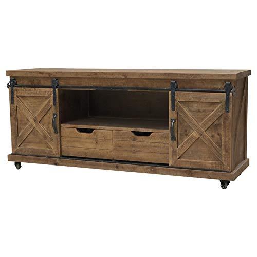 Bahut Enfilade TV-meubel industrieel landschap, schuifdeur, 140 cm