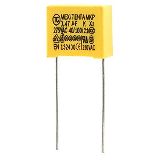 SOURCING MAP 10 condensadores de corriente alterna - Película metalizada de polipropileno - 275V 0.47uF