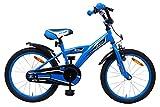 Amigo BMX Turbo - Bicicletta per bambini 18 pollici - Per Bambino di 5-8 Anni - Freno a mano, Freno...