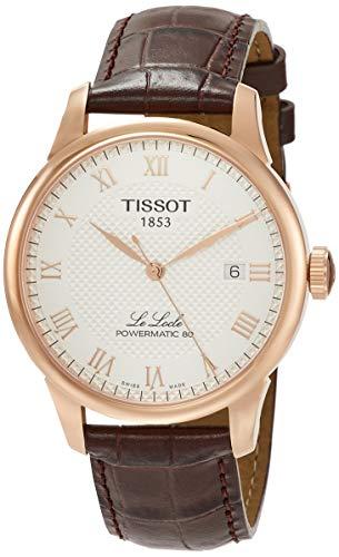 Tissot Unisex-Uhren Analog Automatik One Size Leder 87847063
