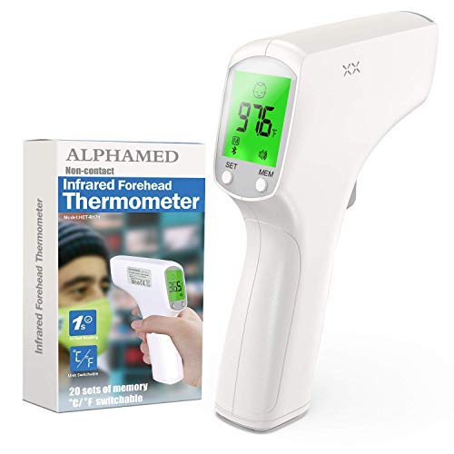 Thermometer Infrarot LCD XS-IFT001A zertifiziert ohne Kontakt Thermoscanner