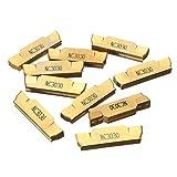 WEI-LUONG Herramientas 10pcs inserciones Torno CNC Hoja M-NC3030 MGMN500 ranurado inserciones portabrocas