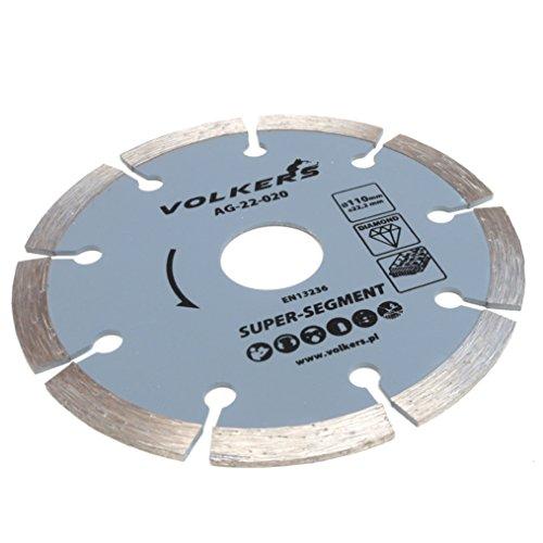 Preisvergleich Produktbild Diamanttrennscheibe für Stein und Beton Ø 110 x 22, 2 mm