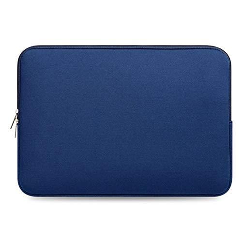 Borsa per Notebook da 13 Pollici Custodia Protettiva Antiurto per Borsa per Laptop e Tablet Custodia per MacBook (Blu) ITjasnyfall
