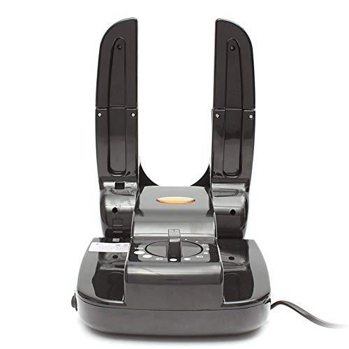 LVJUNQ Secador de Zapatos eléctrico con Bota Plegable portátil con 2 Soportes retráctiles, Tiene una sincronización Inteligente, Adecuado para familias, dormitorios, excursiones o Viajes de mochilero