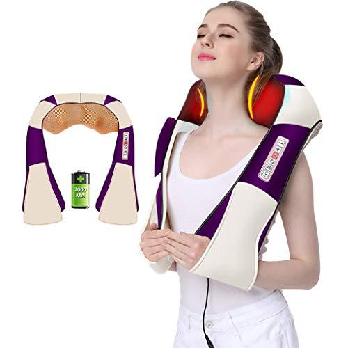 Zhanyi Cervical massagemultifunctioneel huishouden lichaam kneden aanzet schouder bedekking verwarming sjaal, opladen