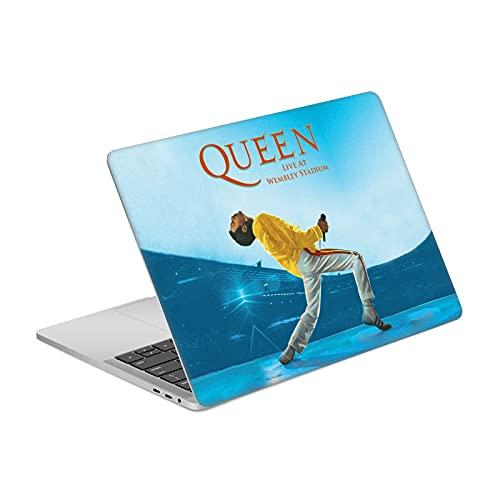 """Head Case Designs Licenza Ufficiale Queen Live At Wembley Iconico Vinile Sticker Pelle Adesivo Compatibile con MacBook PRO 13"""" A1989 / A2159"""