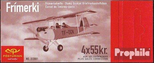 IJsland Mi.-Aantal.: 979MH (compleet.Kwestie.) 2001 Historisch Vliegtuigen (Postzegels voor verzamelaars) luchtvaart