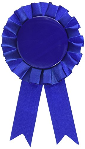 Award Ribbon (blue) Party Accessory  (1 count) (1/Pkg)