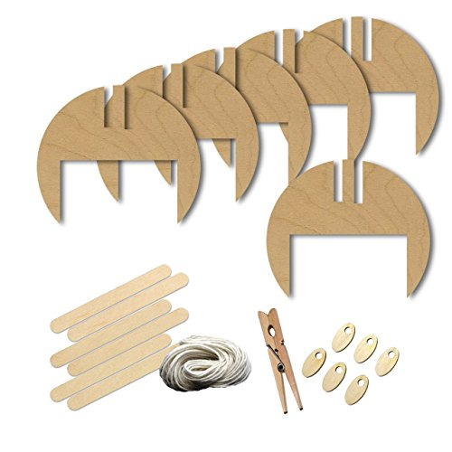 Helmet Football Head Gear Style 7756, Wood Shape Craft Kit, 4 Inch Size Kids Project Kit, Great Party, School and DIY