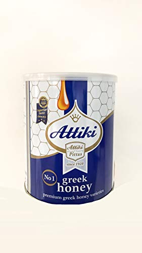 Attiki Greek Honey 1000g 22lb CAN