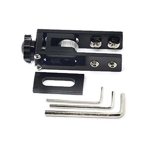Runfon X-Assi sincroni Tendicinghia Stretch Raddrizza Alluminio 3D Parti della Stampante Compatibile con Ender 3 Cr-10