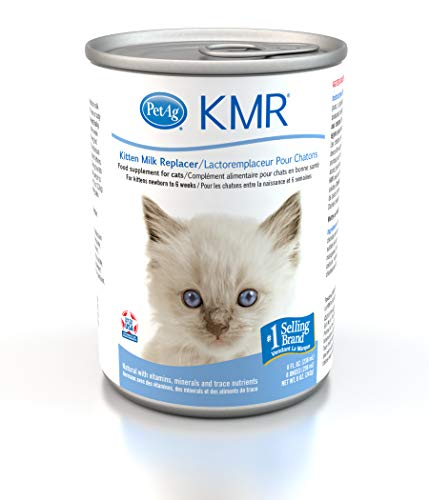 Kmr Liquid Milk Replacer For Cats, 8-Ounce