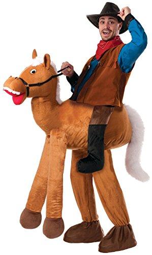 Forum Novelties Men's Ride A Horse Costume, Brown, Standard