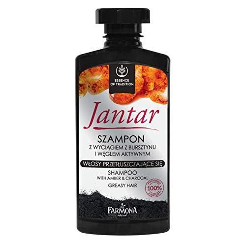 JANTAR Haar Shampoo BERNSTEIN & Kohle Fettiges Haar 330 ml