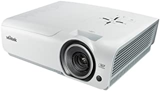 Vivitek 1800 Lumen 1080p Home Theater Projector (White)