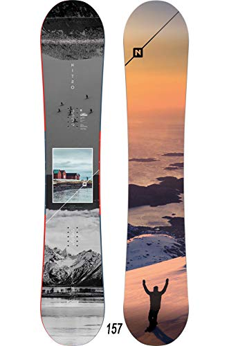 Nitro Snowboards Herren Team Exposure Gullwing '20 All Mountain Freestyle Directional Twin Gullwing Rocker
