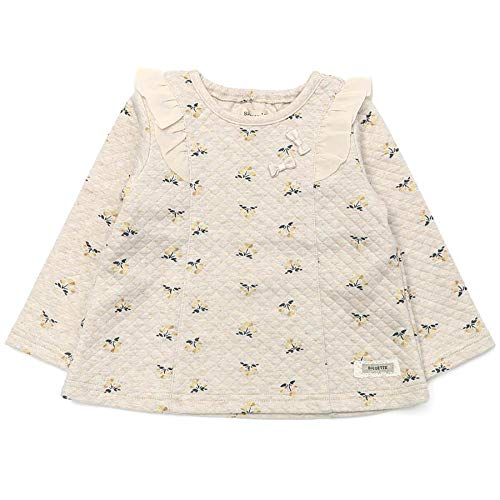 Biquette (ビケット) トレーナー (80〜130cm) キムラタンの子供服 (32106-203) イエロー 110