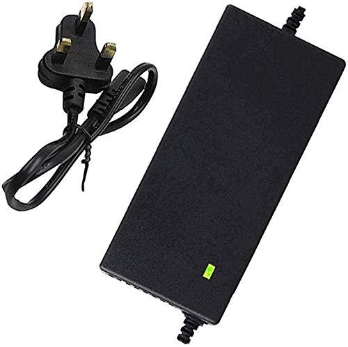 Cargador De Batería De Litio para Scooter Eléctrico/Hoverboard, Adaptador De Corriente De 42 V 2 A / 3 A / 5 A, Carga Rápida, Apagado Automático (Color : 3A, Size : D)