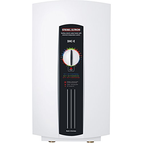 Stiebel Eltron 230628 240V, 12 kW DHC-E12 Single/Multi-Point-of-Use Tankless Electric Water Heater