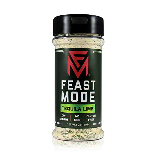 Tequila Lime - Feast Mode Flavors - Low Sodium, No MSG, Gluten Free, All Natural, Meal Prep Seasoning , Healthy , Lime Juice Powder , Tequila Seasoning