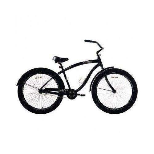 "Bicicleta para hombre Genesis Onex Cruiser de 29 "", color negro"