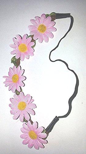 Corona testa ghirlanda gioielli a forma di fiore fascia per la fronte matrimonio sposa accessori per capelli