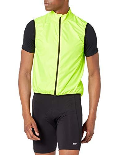 Amazon Essentials Radsport Windweste Outerwear-Vests, Sicherheitsgelb, XL