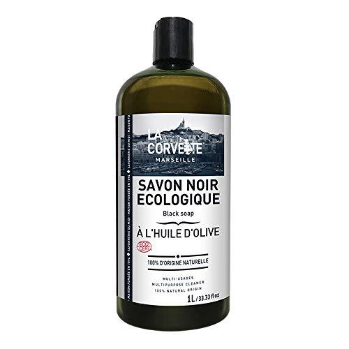 La Corvette Savon Noir Liquide Olive Ecocert 1 L